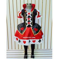 Disfraz Reina De Corazones Disfraces Sombrerero Halloween