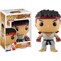 Funko Pop Ryu De Street Fighter Retro Videogame Vinyl Figure