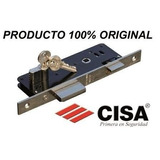Cerradura Para Embutir Cisa 35mm Con Cilindro Con 3 Llaves