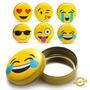 Latinha Emoticons Emoji Zap Decorativo Porta Treco Moedas