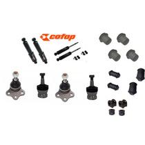 Amortecedores Cofap + Kit Suspensão Dakota 4cc V6 V8