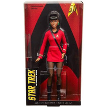 Barbie Star Trek Uhura 50 Aniversario Black Label Nueva