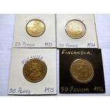 Colección De Monedas Antiguas De Plata Y Otros Metales