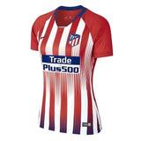 3f47564e84 Camisa Feminina Atlético De Madrid Home 2019 Frete Gratis