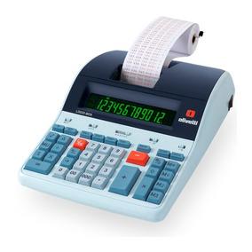 Calculadora De Mesa Olivetti Logos 802 De 12 Dígitos Bivol