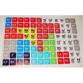 Juegos de la tabla periodica en mercado libre mxico cubo rubik stickers 4x4 tabla periodica 96 elementos urtaz Image collections