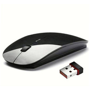 Mouse Óptico S/fio Wireless Usb 2.4ghz Pc - Tv - Notebook