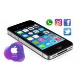 Iphone Teléfono Celular Apple 4s 16gb Negro Usado No Android
