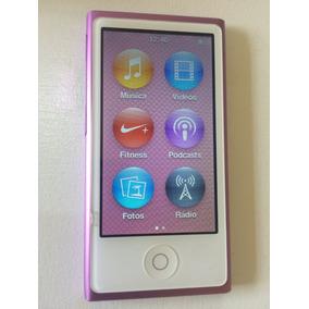 Ipod Nano Roxo 7ª Geração 16gb - Apple