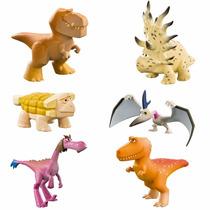 Boneco O Bom Dinossauro - 6 Figuras Em Domo - Sunny 1406