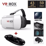 Lentes De Realidad Virtual Vr Box 3d + Control Remoto