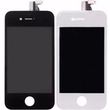 Tela Frontal Display Lcd + Vidro Touch Screen Iphone 4 4g 4s