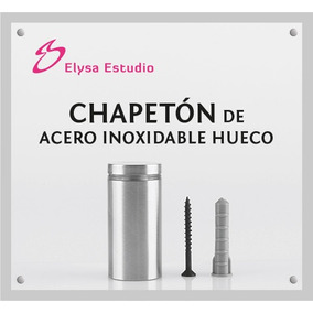 Chapetones, Separadores De Acero Inoxidable 25x45mm