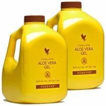 Suco Aloe Vera Gel - Forever Living, Kit 02 Unidades.