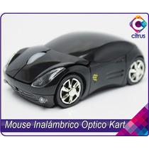 Mouse Inalámbrico Optico En Forma De Carro