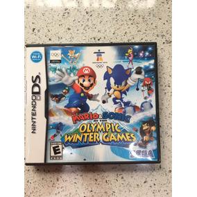 Juego Para Nintendo Ds Mario Y Sonic Olympic Winter Games