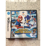 Juego Para Nintendo Ds Mario Y Sonic Olympic Winter Games