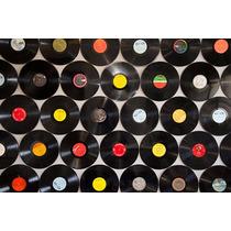 50 Discos De Vinil Para Artesanato E Decoração 30 Cm