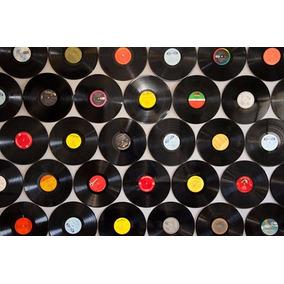 50 Discos Lps De Vinil Para Artesanato E Decoração 30 Cm