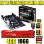 Combo Kit Actualizacion A10 7700k Gigabyte 4gb 2400 Beltarit