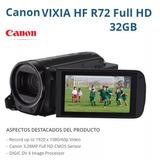 Video Camara Canon Vixia Hf R72 Full Hd Filmadora Camcorder