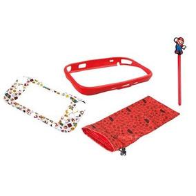 Protector Kit Wii U Game Pad Mario Case Powera Prt/ Entrega