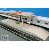 1502 - Plataforma Ferroviária Frateschi Ho 1:87 Maquete
