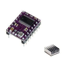 Kit 10 Und Driver Drv8825 -dissipador De Calor Impressora 3d