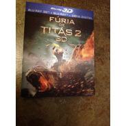 Bluray 3d E Outros Fúria De Titãs 2