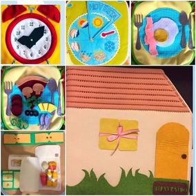 Libro De Tela Habitos Para Niños De 4 Años