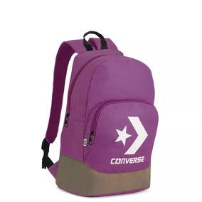 6dd3b08fcc04f Mochilas Marca Converse - Bolsas y Carteras Violeta oscuro en ...