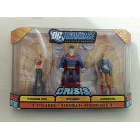D C Universe Criss Wonder Girl - Bizarro - Super Girl