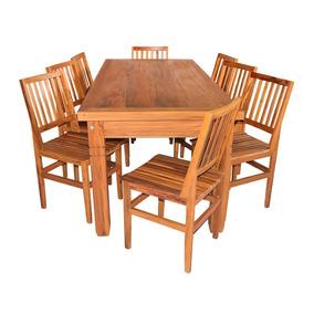 Mesa De Demolição 2 M Com 8 Cadeiras Cambury (frete Grátis)