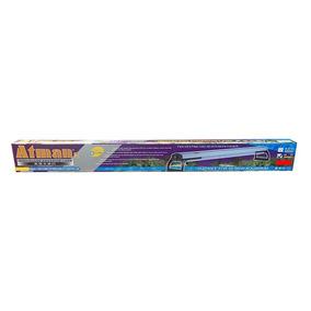 Iluminador Atman Aluminio 100cm Con Tubo 2 Da100