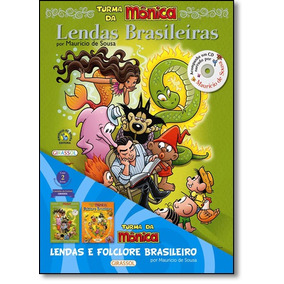 Turma Da Mônica: Lendas E Folclore Brasileiro - Coleção C