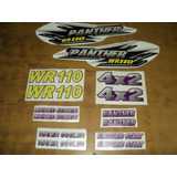 Calcos Cuatriciclos Panther R110 R200 Wr200 Wr250 Kit Todos