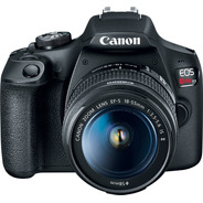 Canon Rebel T7 Kit 18-55mm Is Ii 24 Mpx Cmos Digic 4+ Wi-fi