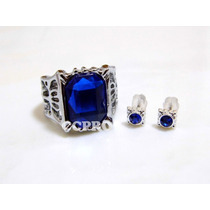 Kit Anillo + Aretes Anime Black Butler Ciel Phantomhive