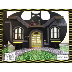 Regalo Maqueta Juguete Personalizado Baticueva Madera Batman