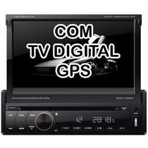 Dvd Retratil Napoli 7968 + Tv Digital+gps+bluetooth+cam/ré