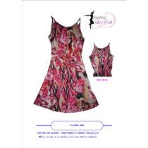 Promo Accesorio Gratis! Vestido Casual Con Trenzado Femenino