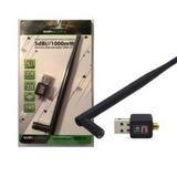 Adaptador Usb Inalambrico Antena De 5 Dbi 300 Mbps Caseros
