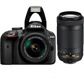 Nikon D3400 18-55 + 70-300 + Memoria 16gb Clase 10