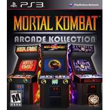 Mortal Kombat Arcade Kollection Ps3
