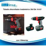 Taladro Atornillador Inalambrico Skil De 14.4 V 2baterias