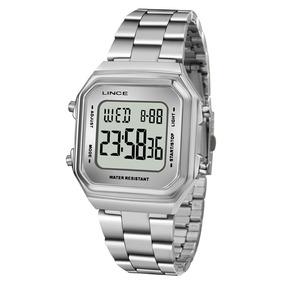 5488cedb6f8 Relogio Feminino Quadrado Digital Prata - Relógios no Mercado Livre ...