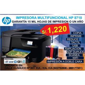Impresora Hp 8710 Con Sistema Continuo Full