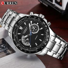 Relógio Masculino Curren Inox 8020 Fréte Grátis