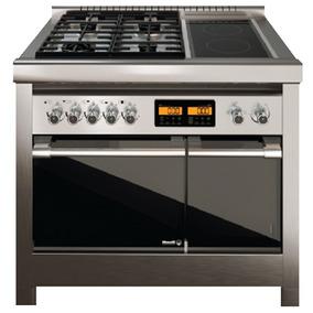 Cocina Morelli Duplo 18016 Combinada Gas/eléctrica 1mt