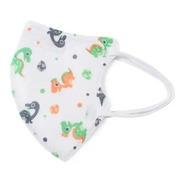 Kit 10 Máscaras Kn95 Infantil Proteção Criança Pff2 Estampa